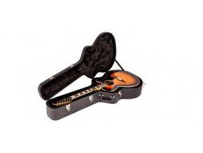 Fender Flat-Top Jumbo Acoustic Guitar Case, Black