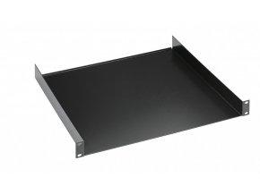 "K&M 28482 19"" Rack shelf black, 2 spaces, 300 mm, 2,14 kg"