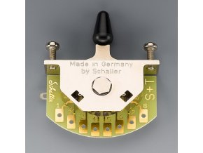 Schaller for Telecaster (3-way-switch), Version T, Nickel,