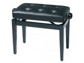 GEWA Piano bench Deluxe black high gloss GEWA Piano Black high gloss Black