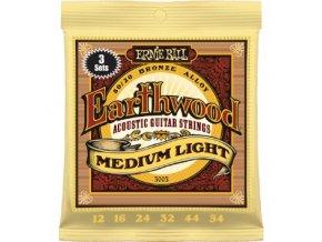 Ernie Ball Earthwood Bronze Medium Light.012-.054