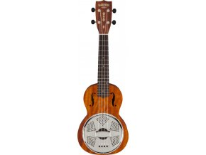 Gretsch G9112 Resonator-Ukulele with Gig Bag, Biscuit Cone, Vintage Mahogany Stain