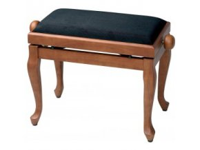 GEWA Piano bench GEWA Piano Deluxe Classic Cherry matt Black cover