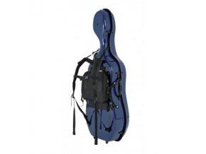 GEWA Cases Cello case carrying system Idea Fiedler Dark blue/blue
