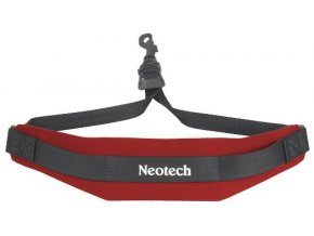 Neotech Saxophone strap Soft Sax Red, Length 41,9 - 53,5 cm