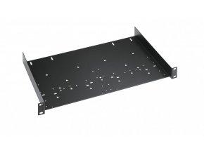 K&M 49035 Universal rack shelf black