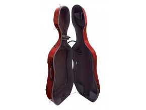 GEWA Cases Cello case Idea Evolution 4.9 Highgloss Red/anthracite