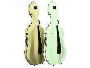 GEWA Cases Cello case Idea Evolution 4.9 Pastel-coloured Vanilla yellow/anthracite