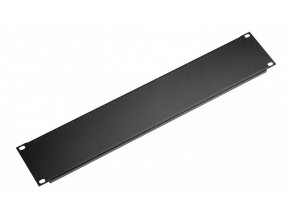 K&M 494/1 Panel black, 2 spaces, 0,48 kg