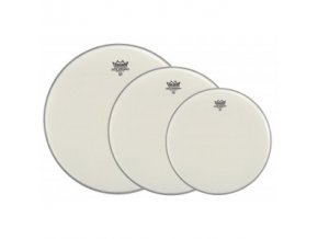 Remo DRUM HEAD AMBASSADOR WHITE COATED PROPACK