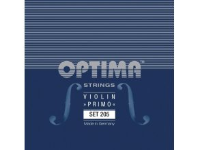 Optima Strings For Violin Gold head D Pure nickel