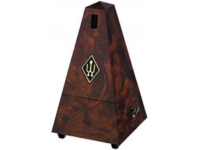 Wittner Metronome Pyramid shape Root wood 855001
