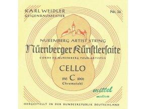 Nurnberger Strings For Cello KŘnstler 1/8