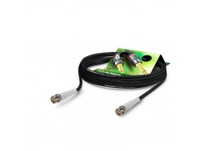 Sommer Cable Coaxcable Focusline L, Black, 0,75m