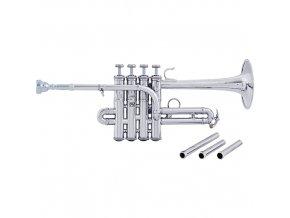 Vincent Bach Bb/A-Piccolo Trumpet AP190 Artisan AP190S