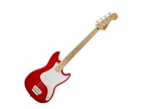 Squier Bronco Bass, Maple Fingerboard, Torino Red