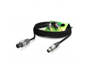 Sommer Cable LS Kabel Meridian PVC 1,00m, Black