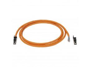 Sommer Cable Netzwerkkabel CAT7 Install, Orange, 100m