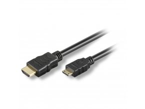 Sommer Cable HDMI male<>HDMI mini male, 19-pol, 1,5 m