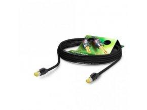 Sommer Cable Netzwerkkabel CAT7 PUR, Black, 1,00m