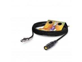 Sommer Cable Netzwerkkabel CAT7 PUR, Black, 10,00m