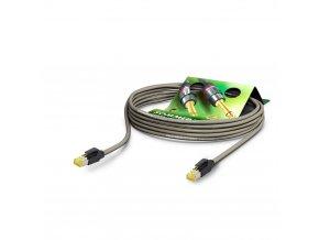 Sommer Cable Netzwerkkabel CAT7 PUR, Gray, 10,00m