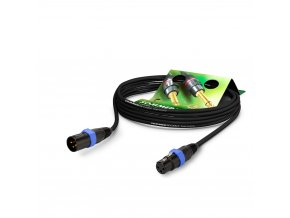 Sommer Cable MC The Source, Black, 2,50m