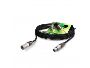 Sommer Cable MC The Stage, Black, 2,50m
