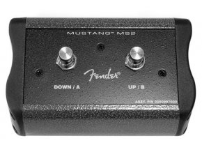 Fender 2-Button Programmable Footswitch: Preset Up Down, Quick Access, Effects O