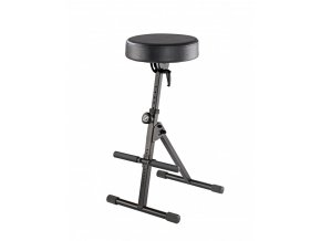 K&M 14060 Stool black leather