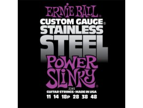 Ernie Ball Slinky Stainless Power.011-.048