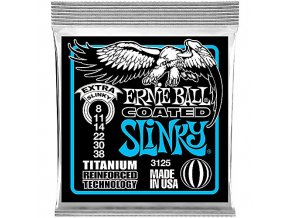 Ernie Ball Coated Slinky Titanium Extra.008-.038