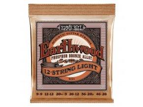 Ernie Ball Earthwood Bronze 12-string Medium.011-.052