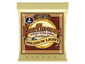 Ernie Ball Earthwood Bronze 3-Pack Med. Light.012-.054