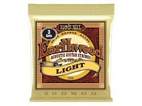 Ernie Ball Earthwood Bronze 3-Pack Light.011-.052