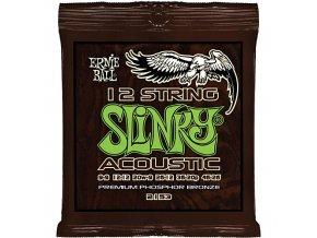 Ernie Ball Slinky Acoustic Phosphor Br. 12-string.009-.046