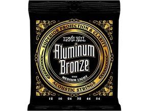Ernie Ball Aluminum Bronze Medium Light.012-.054