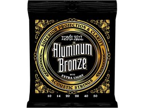 Ernie Ball Aluminum Bronze Extra Light.010-.050