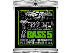Ernie Ball Coated 5-string.045-.130