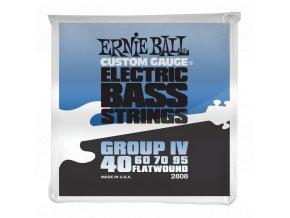 Ernie Ball Flatwound Group IV.040-.095