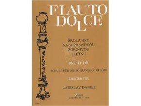 Flauto dolce II.diel, Zobcová flauta - Ladislav Daniel