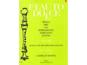 Flauto dolce III.diel, Zobcová flauta - Ladislav Daniel