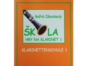 Škola hry na klarinet I - Zákostelecký, Bedřich