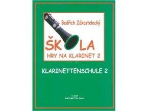 Škola hry na klarinet II - Zákostelecký, Bedřich