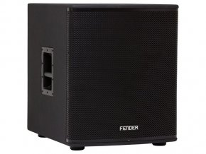 "Fender Fortis F-18SUB 18"" Powered Subwoofer, 230V EUR"