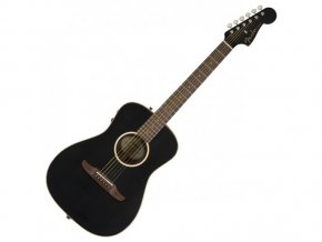 Fender Malibu Special, Matte Black w/bag