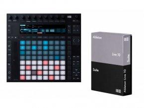 Ableton Push 2 + Live 10 Suite (el. licence)