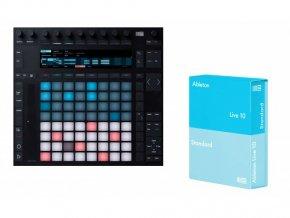 Ableton Push 2 + Live 10 Standard (el. licence)