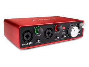Focusrite SCARLETT2i2-2nd Generation