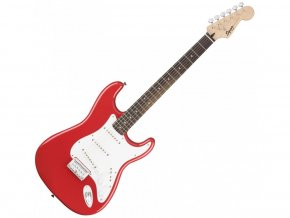 Squier Bullet Stratocaster Hard Tail, Fiesta Red